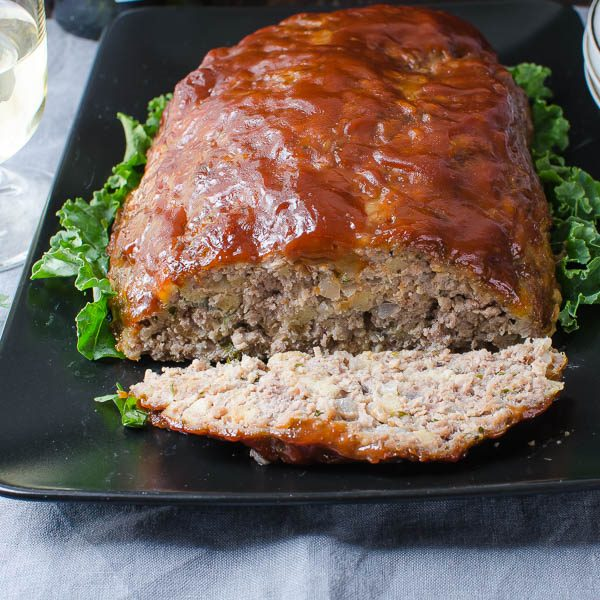 Savory Homestyle Meatloaf   Garlic & Zest