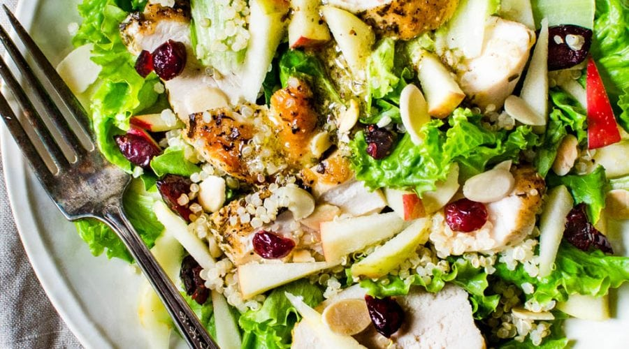 a serving of the fall salad.