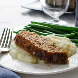 Savory Homestyle Meatloaf | Garlic & Zest