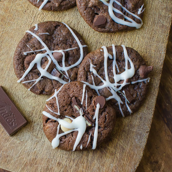 Glazed Chocolate Chocolate Mint Mint Cookies