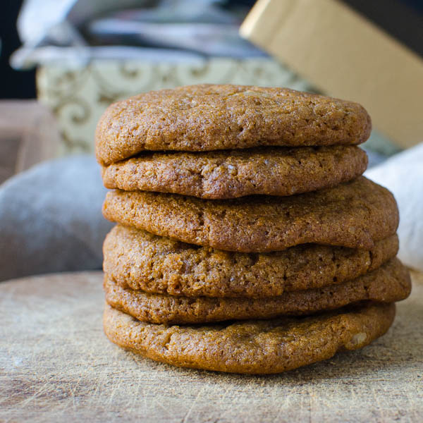Spiced Brown Butter - Boiled Cider Cookies