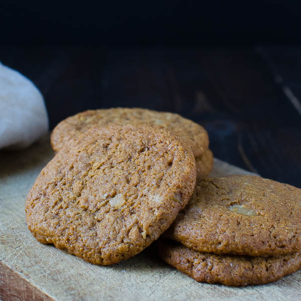 Spiced Brown Butter - Boiled Cider Cookies gluten free