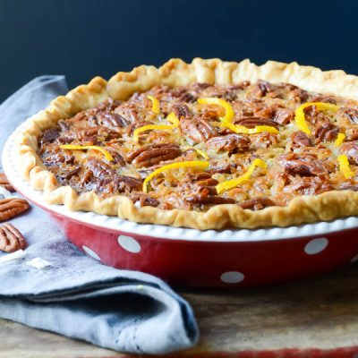 Orange Coconut Pecan Pie