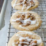 Sea Salt Bourbon Pecan Cookies