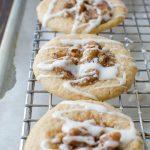 Sea Salt Bourbon Pecan Cookies