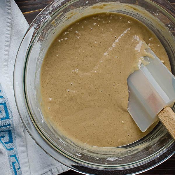 stirring ingredients