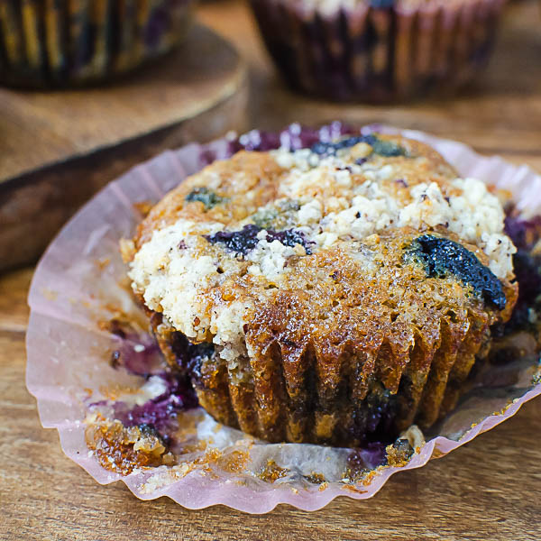 Ready to eat Gluten-Free Blueberry Muffins