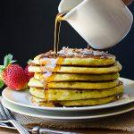 Coconut Orange Buttermilk Pancakes