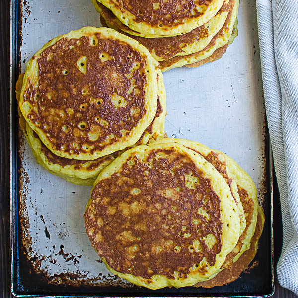 cooked Coconut Orange Buttermilk Pancakes