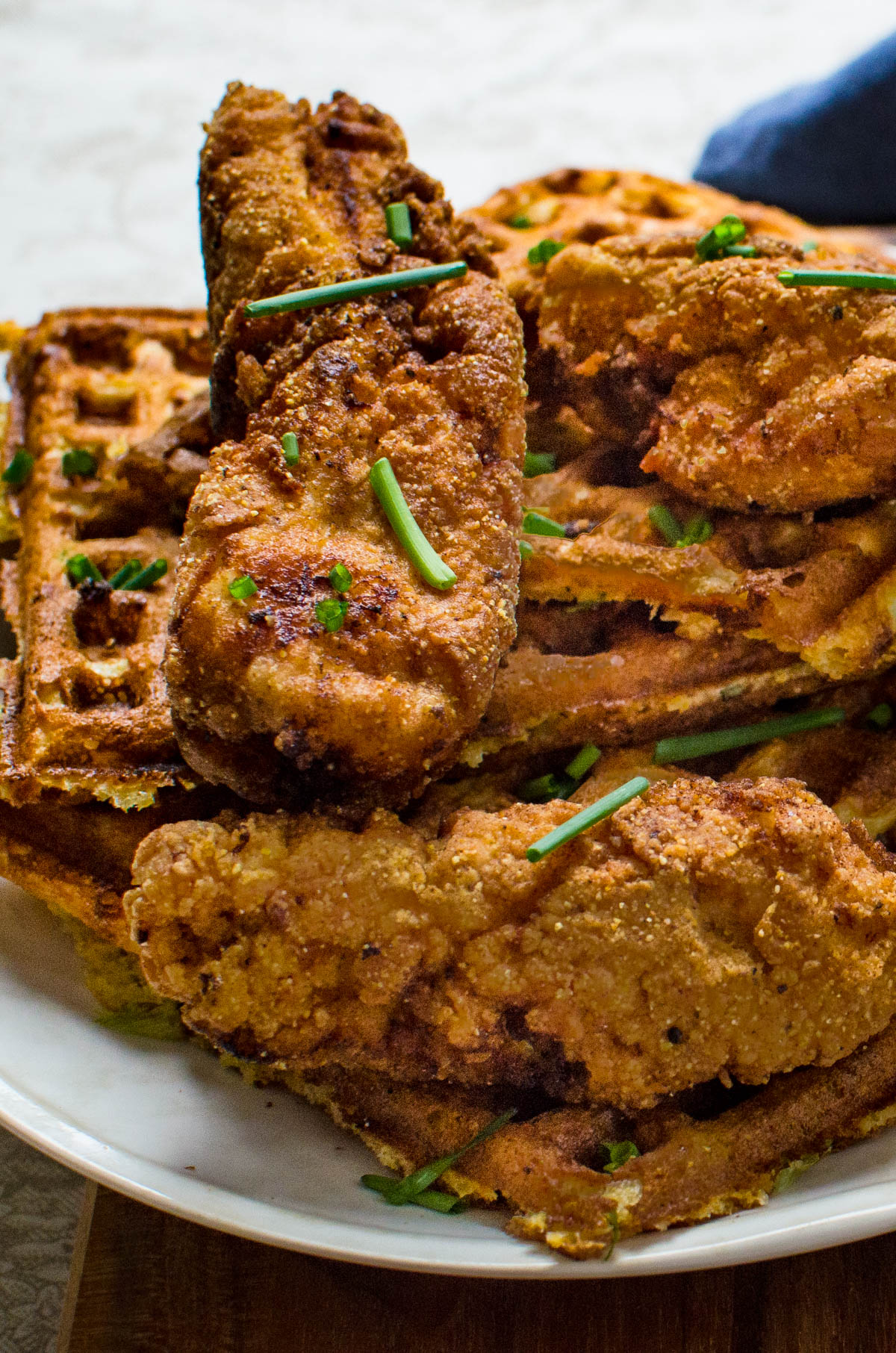 Southern-Style Chicken and Waffles