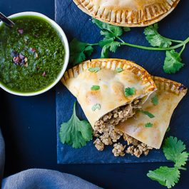 Hatch Chile Pork Empanadas - easy to make, savory and delicious!