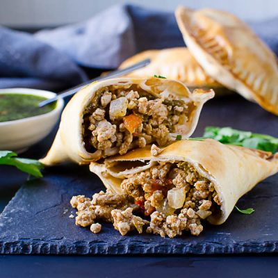 Hatch Chile Pork Empanada