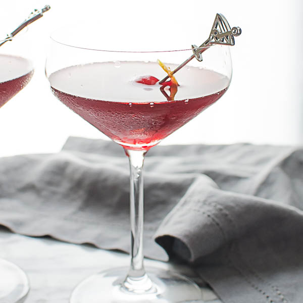The Crimson Kiss cocktail