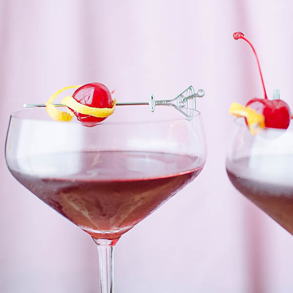 maraschino cherry garnish