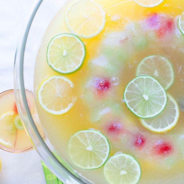 Pineapple Green Tea Punch