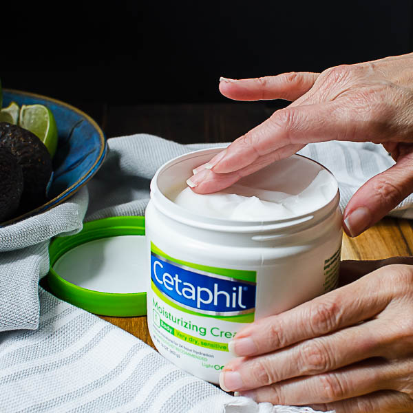 cetaphil lotion and hands