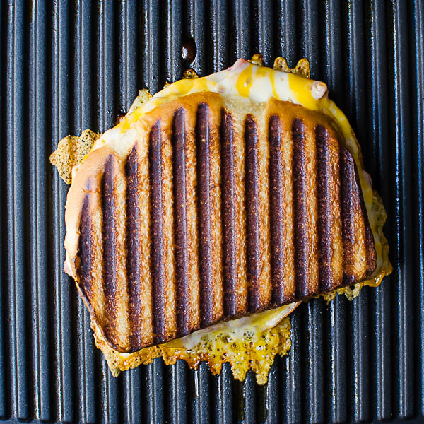 Knife and Fork Grilled Cheese