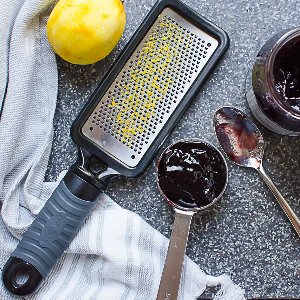 lemon and blackberry jam
