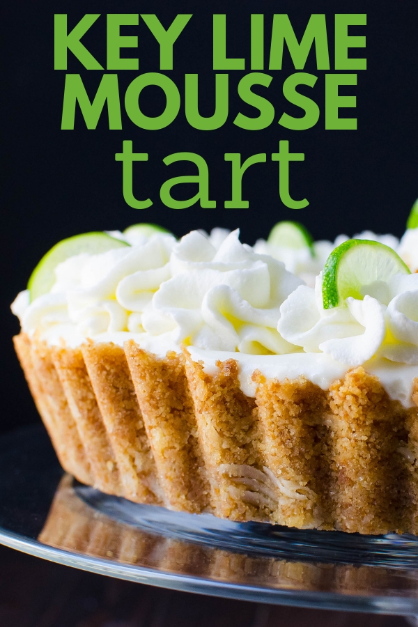 Looking for the ultimate springtime dessert. Try this Key Lime Mousse Tart which can be served chilled or as a semifreddo. Perfect for Easter & Mother's Day. #keylimepie #keylimemousse #easterdessert #mothersdaydessert