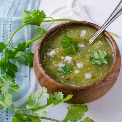Authentic Spicy Salsa Verde