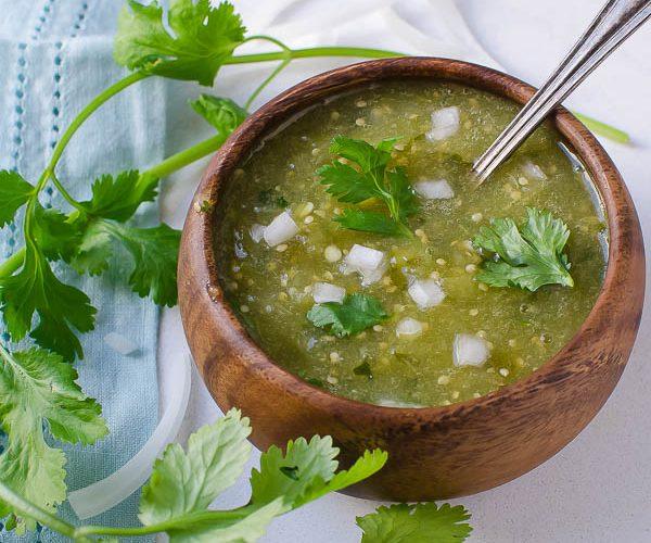 Authentic Spicy Salsa Verde