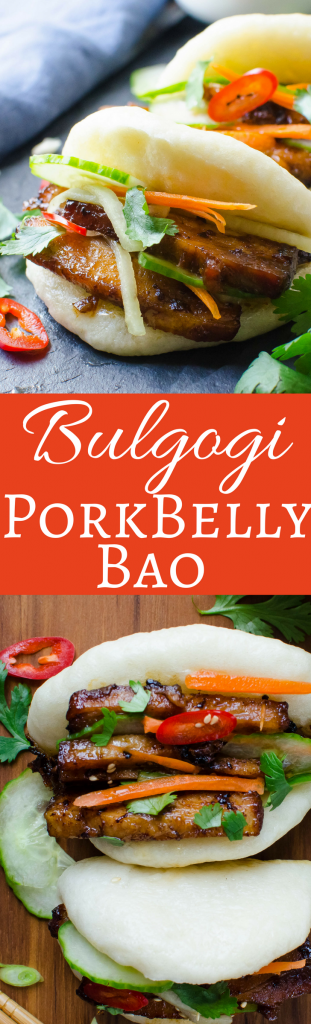 Bulgogi Pork Belly Bao