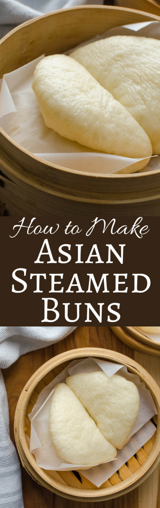 If you love Bao Buns, but have never made them, get this step-by-step recipe that will teach you how to make Asian Steamed Buns at home! These Asian buns are delicious with any number of fillings. #bao #asianbuns #baobuns #baobunrecipe #asianbunrecipe #steamedbuns #steamedbunrecipe #howtomakesteamedbuns #asiansteamerrecipe #asiansteamer