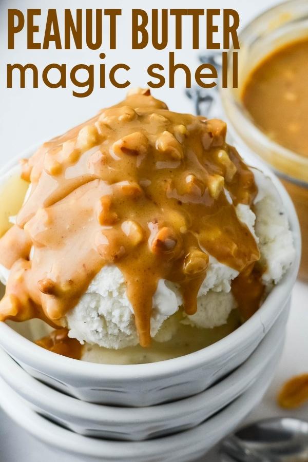 Peanut Butter Magic Shell