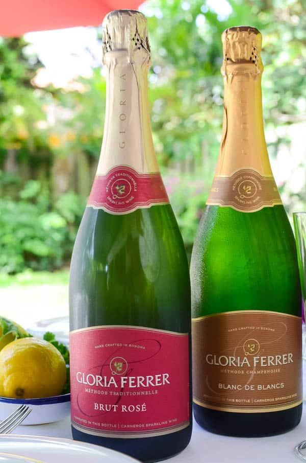 Gloria Ferrer sparkling wines.
