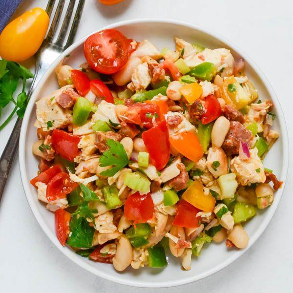 Smoky Chorizo Chicken Salad