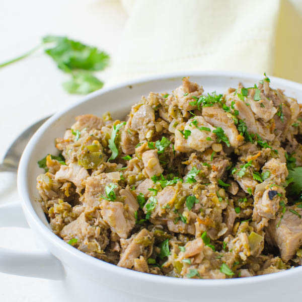 Hatch Chile Chopped Pork