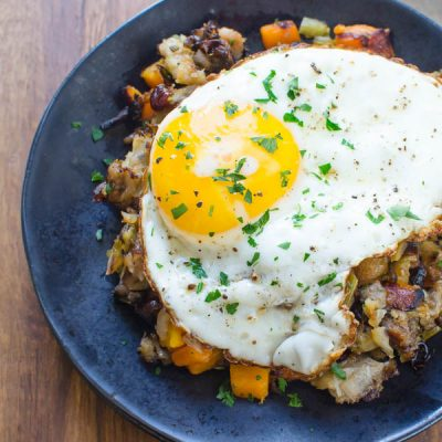 "Leftover Stuffing ""Hash"""