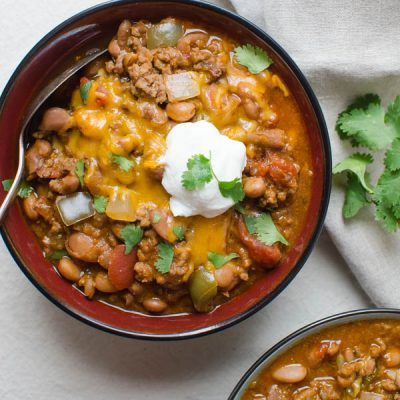 Hearty Homestyle Chili Con Carne