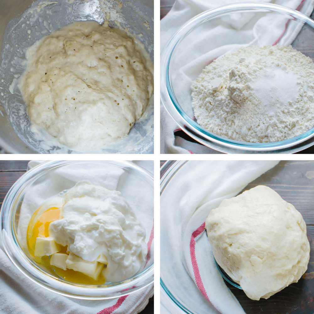 steps to make the pastry dough