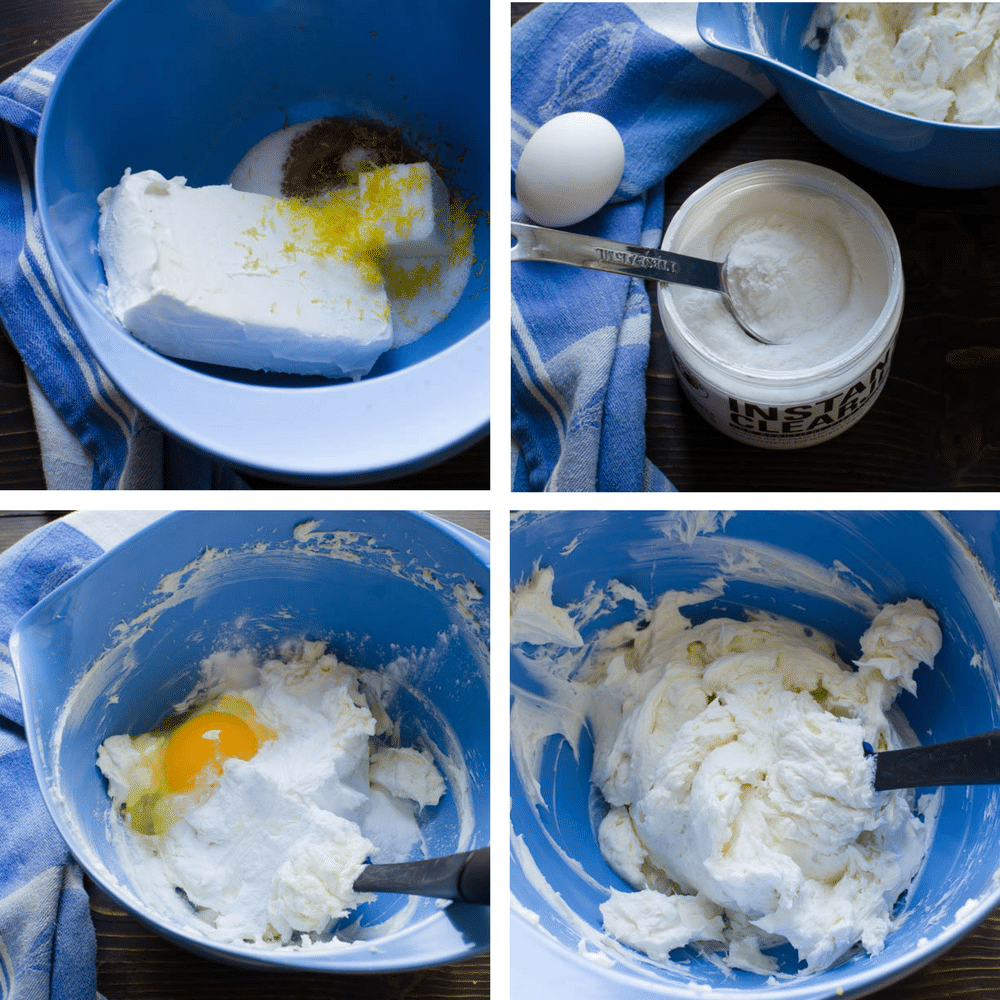 steps to make the cream cheese filling