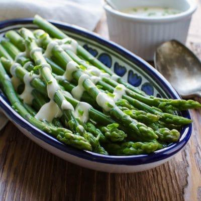 Creamy Dijon Asparagus