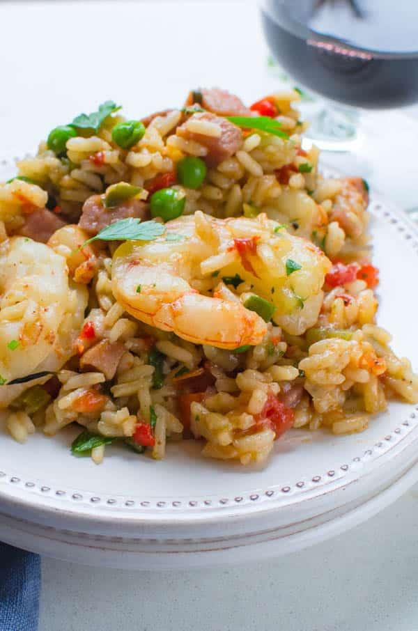 jambalaya on a plate