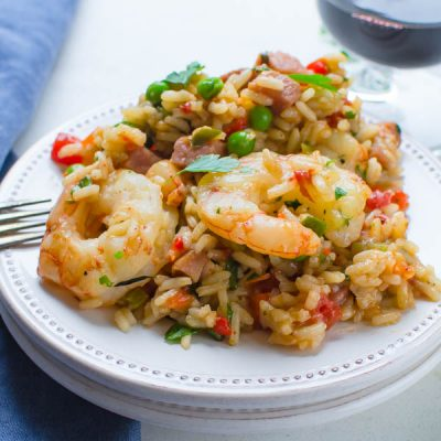 Easy Cajun Skillet Jambalaya (with video)