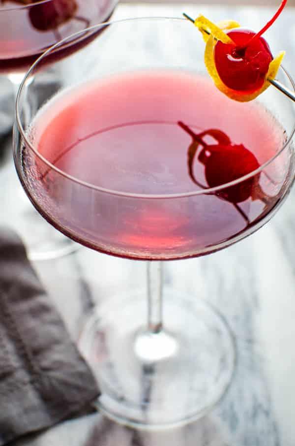 Crimson Kiss - A Valentine's Cocktail