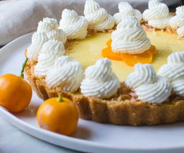 Sweet Tart Calamondin Pie