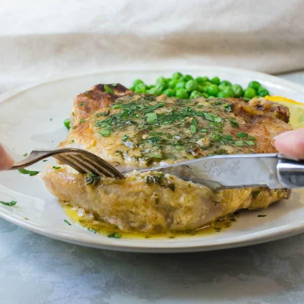 Pork Chops With Pan Gravy Garlic Zest