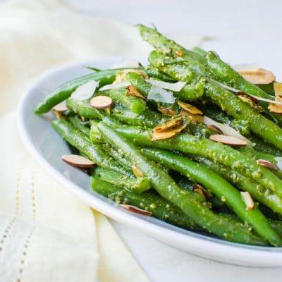 Spring Pesto Green Beans