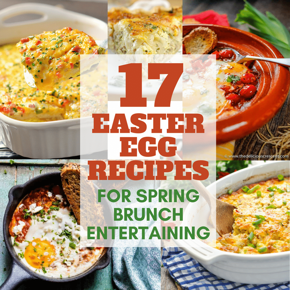 17 EASTER EGG RECIPES