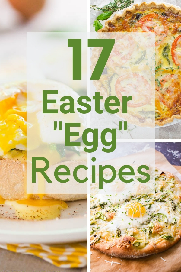If you're searching for Easter inspiration, here are 17 Easter Egg Recipes for Brunch that are always a hit. From make-ahead casseroles to savory quiches, baked egg cups and eggs simmered in sauce, this collection of easy egg recipes will make any brunch special. #easterbrunch #easterbrunchideas #eggrecipes