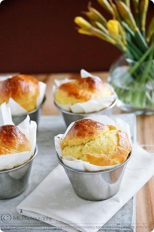 Buttery Saffron Brioche