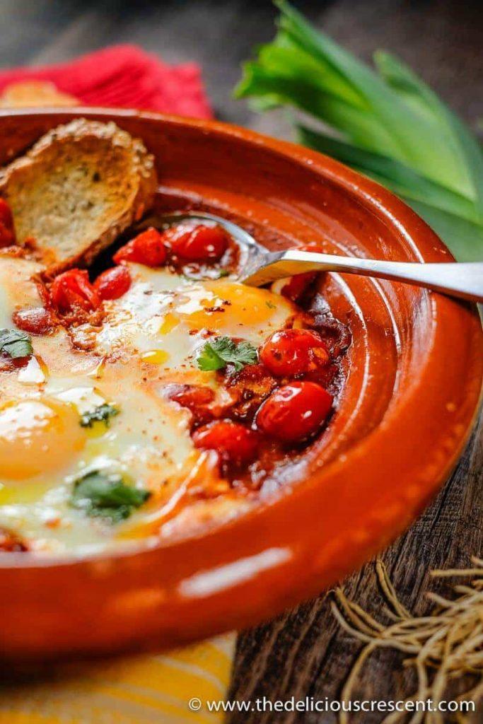 Moroccan Eggs In Tomato Sauce (Shakshuka)