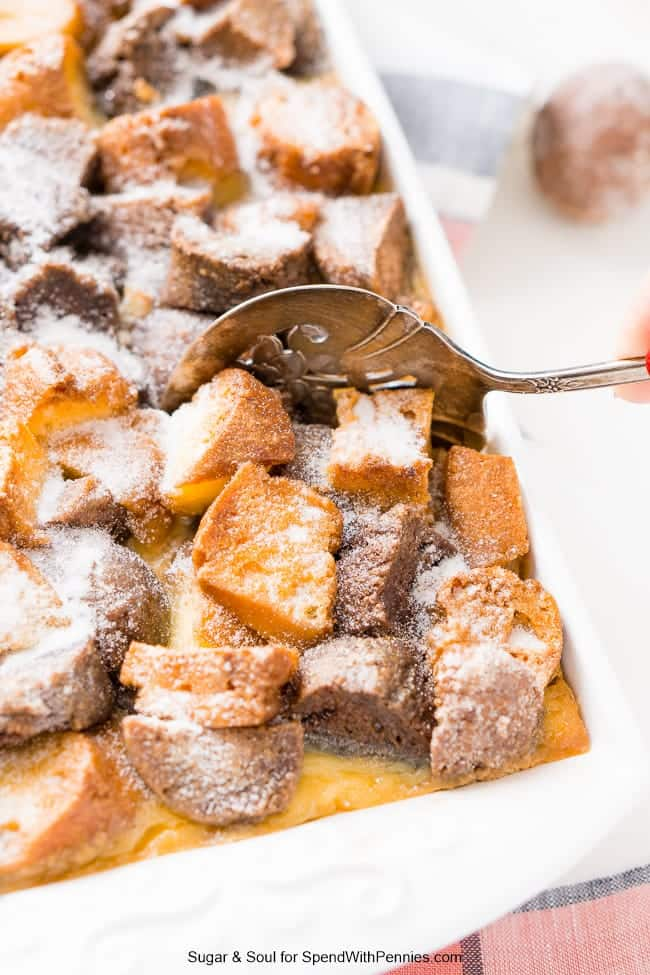 Cake Donut Bread Pudding