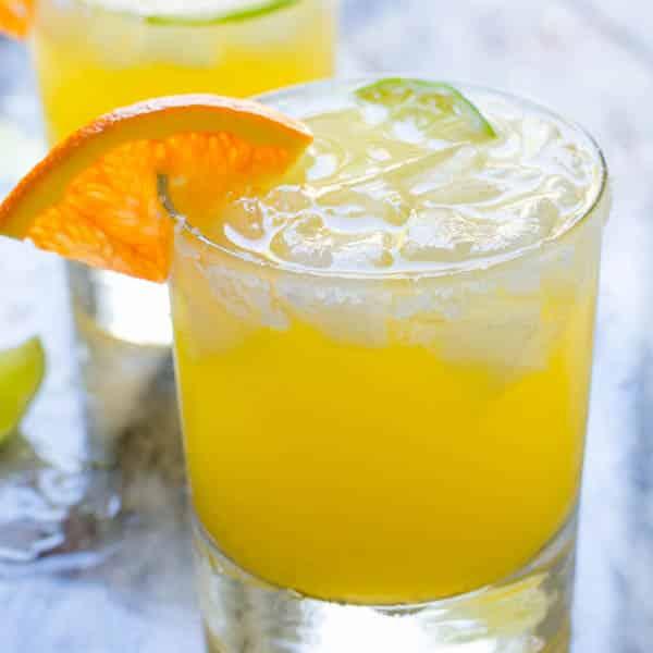 Sparkling Cara Cara Margaritas