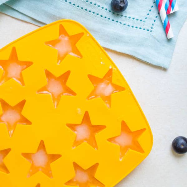 star shaped ice cubes
