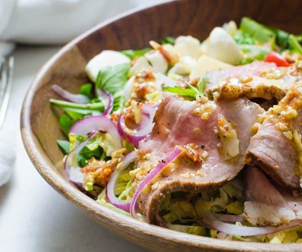 Cold Roast Beef Salad